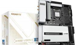 Материнская плата Gigabyte W480 VISION D — надёжная основа для рабочих станций с Intel Xeon W-1200