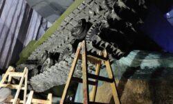 Музейный комплекс «Зоя»: танк под обстрелом проекторов и другие технические нюансы