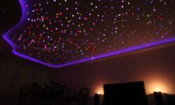[Перевод] Делаем звёздное небо на потолке при помощи оптоволокна и Arduino