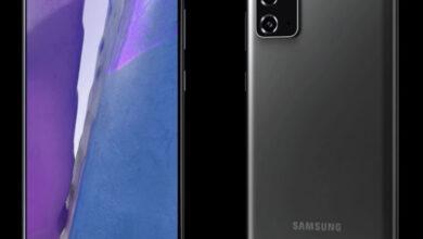 Фото Смартфон Samsung Galaxy Note 20 5G с плоским экраном показан со всех сторон