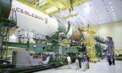 Видео: ракета «Союз-2» собрана с кораблём «Прогресс МС-15»