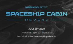 Virgin Galactic покажет кабину туристического космического корабля VSS Unity в конце июля