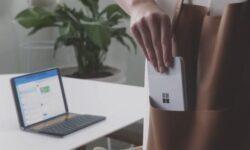 Выяснились габариты Microsoft Surface Duo: толщина меньше сантиметра в сложенном виде