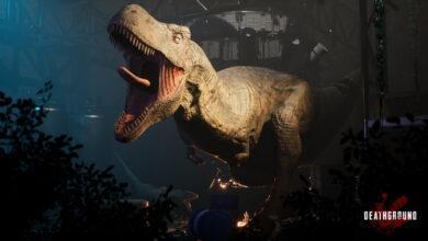 Фото Игры в прятки с динозаврами: трейлер кооперативного ужастика Deathground