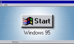 Легендарной Windows 95 исполнилось 25 лет
