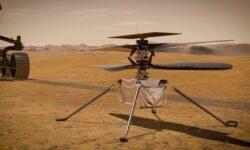 Марсианский вертолёт Ingenuity успешно пережил отправку в космос
