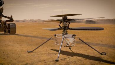 Фото Марсианский вертолёт Ingenuity успешно пережил отправку в космос