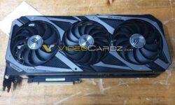 Массивная видеокарта ASUS ROG Strix GeForce RTX 3090 показалась на фотографии