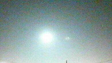 Фото Над Японией пролетел неопознанный объект. Что это?