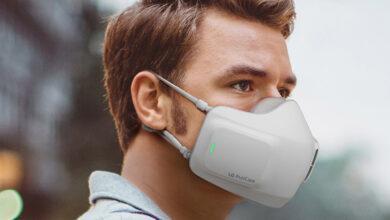 Фото Носимый очиститель воздуха LG PuriCare Wearable работает до восьми часов без подзарядки