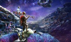 Прогулка по опасному астероиду и сложные решения: 12 минут геймплея дополнения Peril on Gorgon к The Outer Worlds