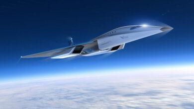Фото Virgin Galactic показала концепт сверхзвукового самолёта и договорилась о сотрудничестве с Rolls-Royce
