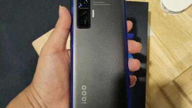 Фото «Живые» фотографии раскрыли дизайн мощного смартфона Vivo iQOO 5 со 120-Вт подзарядкой