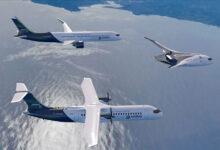 Фото Airbus представила концепты авиалайнеров с водородным двигателем — запуск в 2035 году