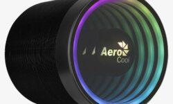 Цилиндрический кулер AeroCool Mirage 5 создаст необычную атмосферу за счёт RGB-подсветки