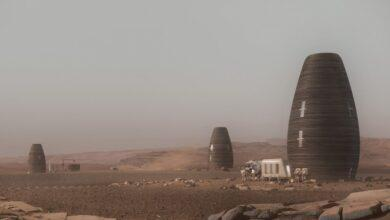 Фото Из каких материалов можно строить дома на Марсе?