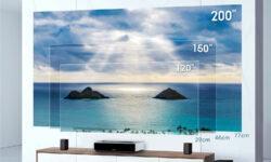 Лазерный проектор Xiaomi Fengmi 4K Max создаёт пятиметровое изображение