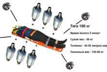 Фото Летающая турбореактивная платформа для парамедиков