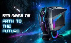 MSI MEG Aegis Ti5 стал первым в мире игровым десктопом с графикой NVIDIA Ampere