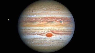 Photo of На новой фотографии Юпитера найдено новое пятно. Что это такое?