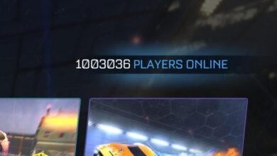 Фото Одновременный онлайн в Rocket League достиг одного миллиона игроков