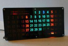 Фото [Перевод] Автоматический вечный календарь с подсветкой