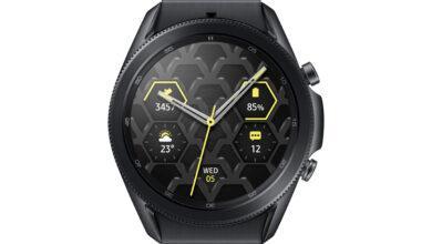 Фото Samsung представила смарт-часы Galaxy Watch 3 в титановом корпусе
