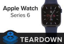 Фото Смарт-часы Apple Watch Series 6 показали приемлемую ремонтопригодность