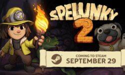 Spelunky 2 пробудет эксклюзивом PS4 две недели — ПК-версия выйдет 29 сентября