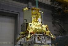 Фото Макет исследовательской станции «Луна-25» прошёл тепловакуумные испытания