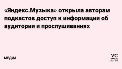 Фото «Яндекс.Музыка» открыла авторам подкастов доступ к информации об аудитории и прослушиваниях