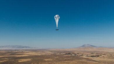 Фото Аэростат Google, раздающий интернет, провисел в стратосфере рекордные 312 дней
