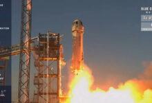Фото Blue Origin провела 13-й успешный запуск суборбитального корабля New Shepard