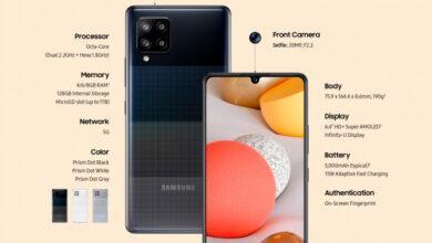 Фото Бюджетный смартфон Samsung Galaxy A42 5G основан на Snapdragon 750G, но разрешение дисплея — только HD+