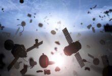 Фото Чем опасен космический мусор?