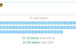 Ещё один велосипед: храним юникодные строки на 30-60% компактнее, чем UTF-8