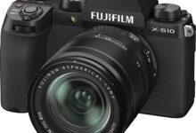 Фото Fujifilm представила недорогую беззеркалку X-S10 с продвинутой стабилизацией