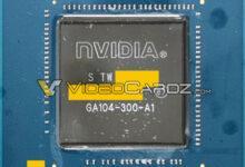 Фото Графический процессор видеокарты GeForce RTX 3070 засветился на фотографии