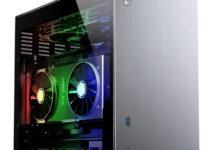 Фото Компактный корпус Jonsbo V10 вмещает видеокарты длиной до 330 мм