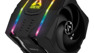 Фото Кулер Arctic Freezer 50 весом больше 1 кг подойдёт для процессоров Intel и AMD