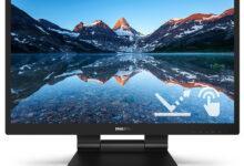 Фото Новые мониторы Philips B-серии с технологией SmoothTouch поддерживают 10-точечный сенсорный ввод