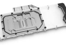 Фото Новые водоблоки EK Vector рассчитаны на видеокарты EVGA XC3 GeForce RTX 30-й серии
