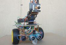 Фото Платформа с web-камерой на ESP32