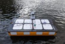 Фото Прототип роботизированной лодки Roboat II для перевозки людей и грузов протестировали в Амстердаме