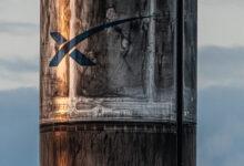 Фото Reuse, reduce, Starlink: первая ступень Falcon вернулась на Землю после вывода 60 спутников на орбиту
