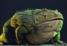 Фото Самая большая лягушка в истории могла есть динозавров