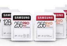 Фото Samsung представила SD-карты EVO Plus и PRO Plus для профессионалов