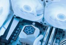 Фото SilverStone представила СЖО «всё в одном» PermaFrost в белоснежном исполнении с подсветкой