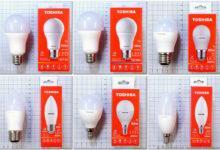 Фото Светодиодные лампы Toshiba