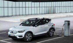 Volvo начала производство своего первого электрокара — кроссовера XC40 Recharge P8